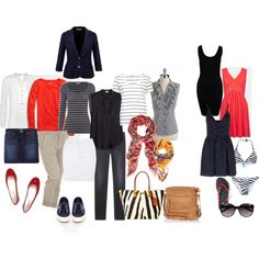 3 week Rome and Paris travel wardrobe