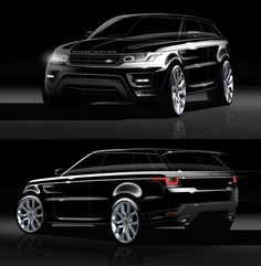 Jaguar land rover, range rovers, car sketch, transportation design, sweet c New Range Rover Evoque, Range Rovers, Outfits For Spain, Jaguar Land Rover, Car Sketch, Sweet Cars, Transportation Design, Automotive Design, Hot Cars