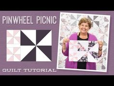 Missouri Star Porcelain Pinwheel Picnic Kit - Missouri Star Quilt Co. - Missouri Star Quilt Co. - Finished size: x Level: Advanced Beginner. From Missouri Star Quilt Company Layer Cake Quilt Patterns, Pinwheel Quilt Pattern, Layer Cake Quilts, Layer Cakes, Missouri Quilt Tutorials, Quilting Tutorials, Quilting Patterns, Msqc Tutorials, Quilting Ideas