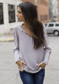 Camisa biomba Trece grey