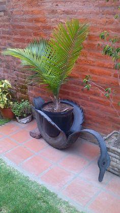 A tire (wow) what a creative person:-)