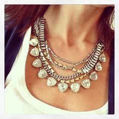 The Sutton Necklace $128 (that can be worn 5 ways) paired with the Somervell Necklace $ 59! http://www.stelladot.com/sites/lejeanmitchell