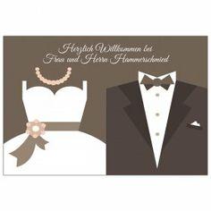 Personalisierte Fußmatte Brautpaar mit Namen und Hochzeitsdatum des Brautpaares