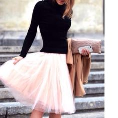 GORGEOUS CUSTOM PINK TULLE SKIRT Tulle Skirt is Lined & has 5 Layers! Skirts