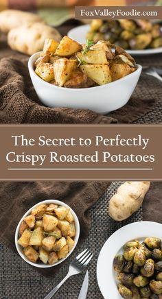 The Secret to Perfectly Crispy Roasted Potatoes