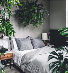 #bedroomdesign #goals love the grey and verdant