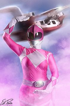 Pink Ranger.