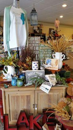 Lake Display- Sawyer St. Oskosch Autumn Displays, Table Decorations, Furniture, Home Decor, Art, Desktop, Art Background, Decoration Home, Room Decor