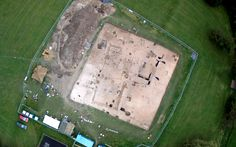"An Anglo-Saxon feasting hall unearthed beneath a village green in Kent could   represent the ""tip of the iceberg"", according to archaeologists…"