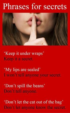 Phrases for secrets