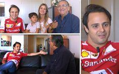 Carrossel Felipe Massa (Foto: Editoria de Arte)
