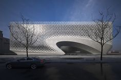 Architecture, Delhi, natural light, solar orientation, perforated facade, solar heat gain, Gallery, carousel showcase, Studio…