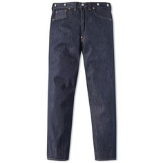 Levi's Vintage Clothing 1933 501 Jean (5,825 MXN) ❤ liked on Polyvore featuring men's fashion, men's clothing, men's jeans, mens blue jeans, mens white jeans, mens high rise jeans, levi mens jeans and mens straight leg jeans