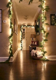 70 Modern Indoor Christmas Lights Decoration Ideas