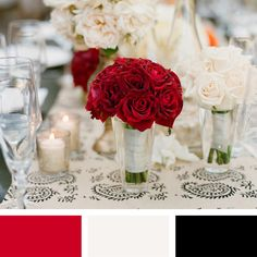 Color Pairings We Love (You Will Too!) | TheKnot.com So classical, but elegant!