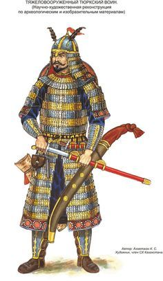 Kök Turk (Tujue) Warrior