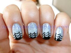 Nails by Carol: Halloween Nail Art Challenge: Spiderweb