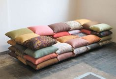 pillow couch - i am in heaven