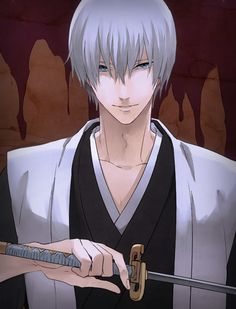 Gin | BLEACH | Very attractive in this picture.