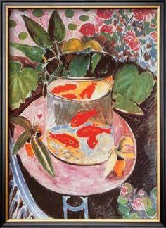 framed matisse goldfish - Google Search