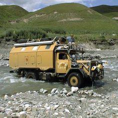 Overlander trucks - beasts!