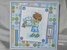 LOTV Big Present Boys Birthday card - A Pretty Place To Craft
