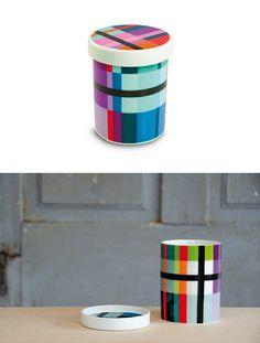Zig Zag, Porcelain Tin - Remember