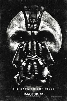 New IMAX poster for The Dark Knight Rises!