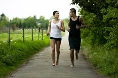 View top-quality stock photos of Couple Running Barefoot. Barefoot Running, Going Barefoot, Foot Exercises, Types Of Cardio, Trail Races, Couple Running, Benefits Of Running, Cardio At Home, Interview