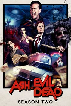 Ash vs Evil Dead (2015–) Season 2, 10 Episodes | TV-MA | 30 min | Action, Comedy, Fantasy | Starz, Hulu | 死霊のはらわた リターンズ シーズン2 全10話