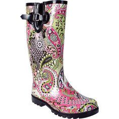 Women's Nomad Puddles Boot - Tan Leopard with FREE Shipping & Exchanges.  Rain Rain, go away ...you won't be singing this song anymore once you have