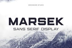 Marsek Display Sans Serif is a solid and sophisticated display font. The font is created to emphasis big headline, title, single character and also good for short description paragraph. Modern Sans Serif Fonts, Modern Typeface, Police Avec Serif, Architectural Font, Free Fonts For Designers, Best Free Fonts, Font Free, Handwriting Fonts, Dogs