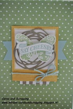 Say Cheese, Butterfly Basics Stampin Up by Cards and Scrapping