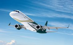 The luxurious Embraer Lineage 1000 offers up to 5 separate internal cabins, which could include a dining room, VIP lounge and a double bedroom. $49900000