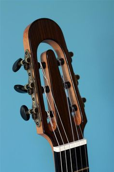 2010 Bastien Burlot Guitars Recital headstock