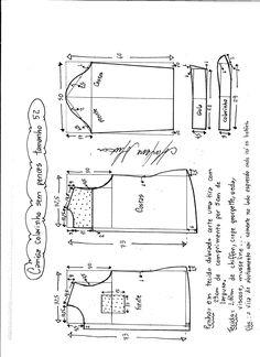 Patrón de una fina y linda camisa para mujer. Tallas desde la 36 hasta la 56.   Talla 36: Talla 38: Talla 40: Talla 42: Talla 44: Talla 46: Talla 48: Talla 50: Talla 52: Talla 54: Talla 56:  Fuente:http://www.marlenemukai.com.br/ Patrón de Camisa manga larga sin hombrosPatrón blusa con aberturaPatrón Camiseta …