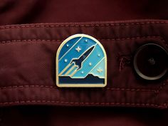 Rocketeer Pin by DKNG #Design Popular #Dribbble #shots