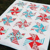 Summer Sewing ~ Pinwheels in the Park Pattern Tutorial || Sew Mama Sew