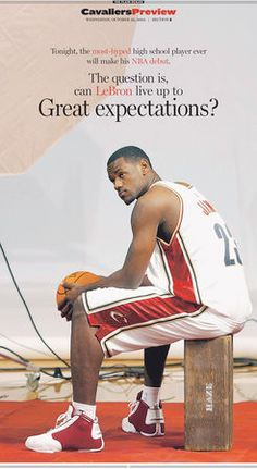 A Miami radio program on Tuesday attempted to buy a full-page advertisement in The Plain Dealer to poke fun at LeBron James.