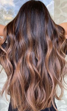 Warm Brown Hair, Caramel Brown Hair, Hair Color Caramel, Balayage Hair Ash, Balayage Brunette, Brunette Hair, Brunnete Hair Color, Hair Colours, Balayage Brun Caramel