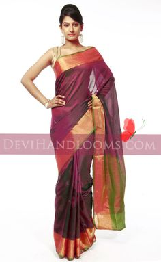 Uppada+plain+silk+saree-1.jpg (738×1200)