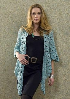 Crochet this amazing lightweight zen jacket to wear any time of year. The lacy design is elegant, yet casual, and it would also make a great gift. Free crochet patterns like this one are brilliant.