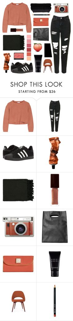 """""""121"""" by teeenagers ❤ liked on Polyvore featuring Brunello Cucinelli, Topshop, adidas, Aesop, Surya, Kevyn Aucoin, Lomography, Monki, Dooney & Bourke and Bobbi Brown Cosmetics"""