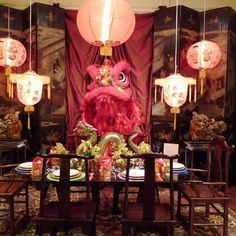 16 Stunning Oriental Dining Room Ideas   Nove Home