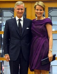 Prince Philippe and Princess Mathilde of Belgium in Istanbul