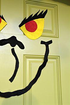 The Grinch Christmas Door!