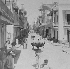 Vendedor de pan,San Juan Puerto Rico.1889