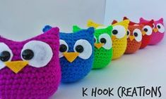 Owl Amigurumi - free crochet pattern by Kara Marie / K Hook Creations