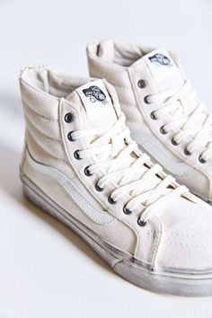 Vans Sk8-Hi Overwash Slim Zip Sneaker - Urban Outfitters $75 @shandraleigh This is the one! I'm sold.