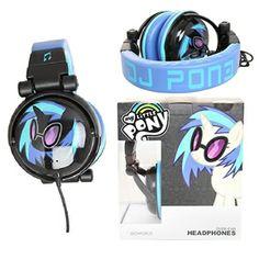 My Little Pony Friendship Is Magic DJ Pon-3 Headphones
